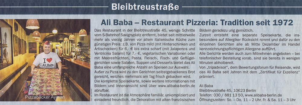 Ali Baba: Pizzabäcker Ayman